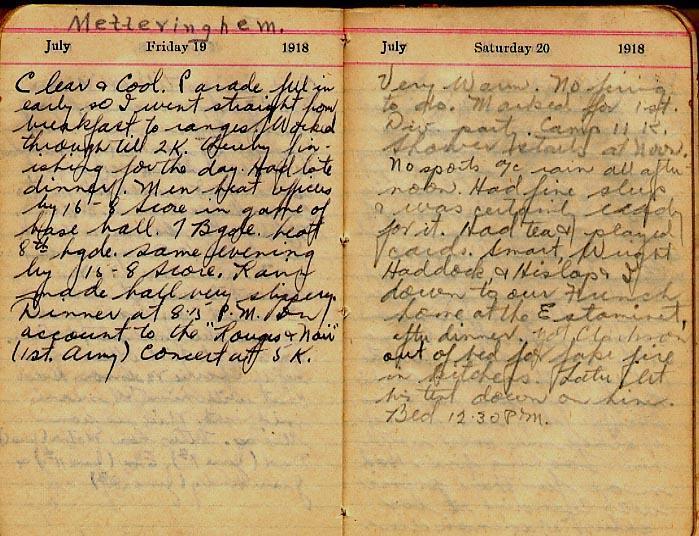 Maharg diary, page 76.