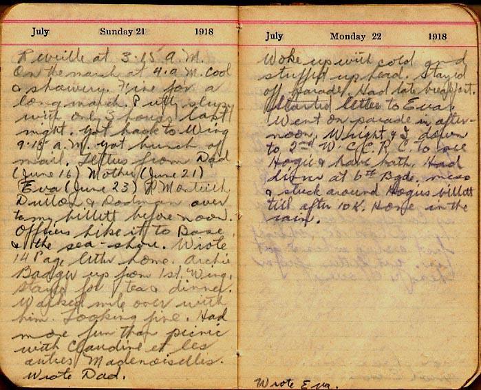 Maharg diary, page 77.