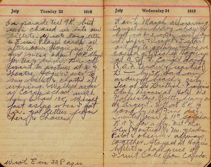 Maharg diary, page 78.