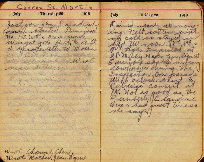 Maharg diary, page 79.