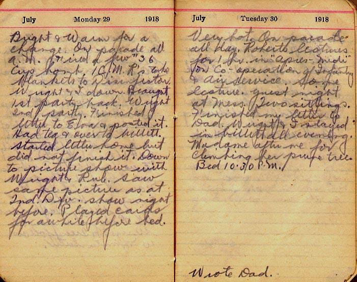 Maharg diary, page 81.