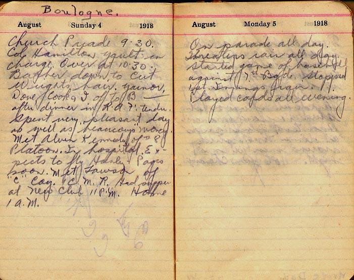 Maharg diary, page 84.