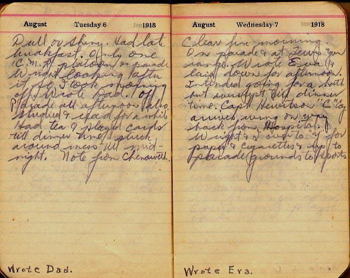 Maharg diary, page 85.