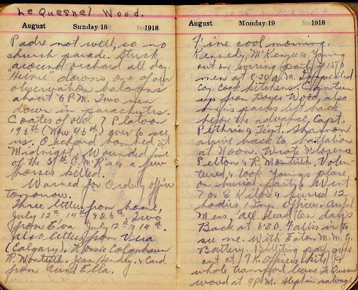 Maharg diary, page 91.