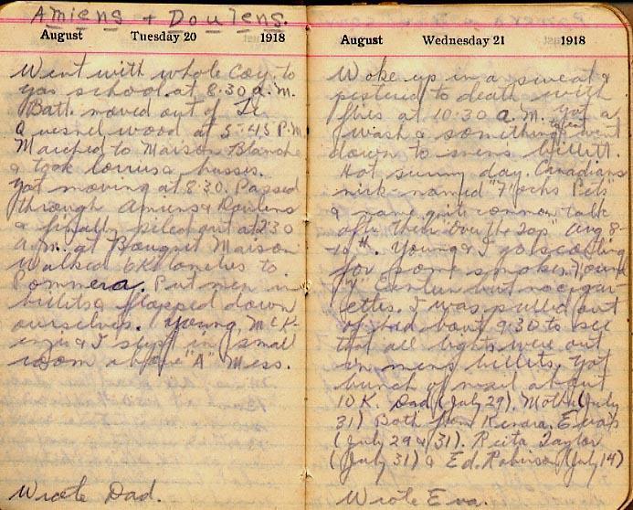 Maharg diary, page 92.