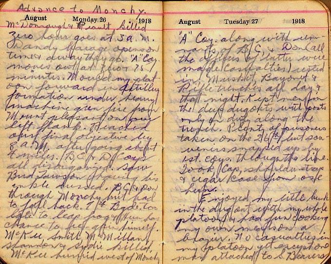 Maharg diary, page 95.