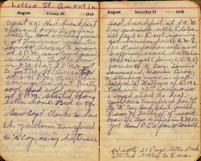 Maharg diary, page 97.