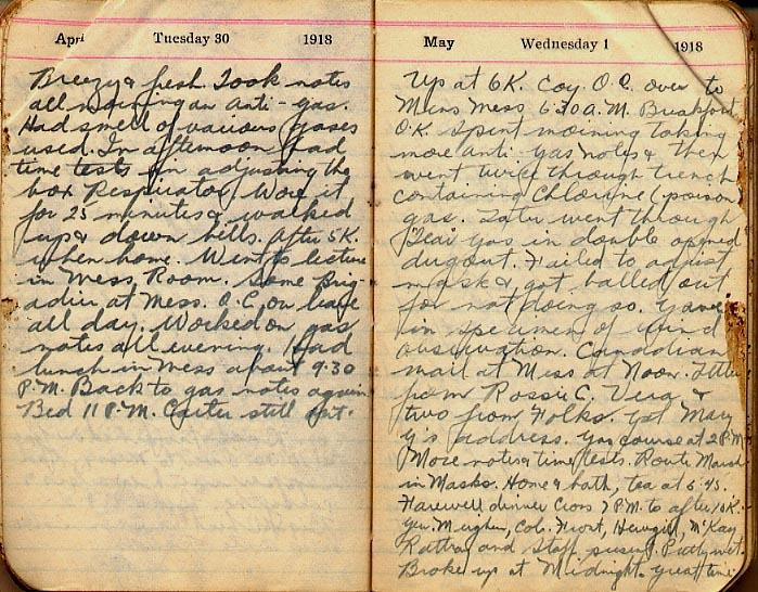 Maharg diary, page 36.