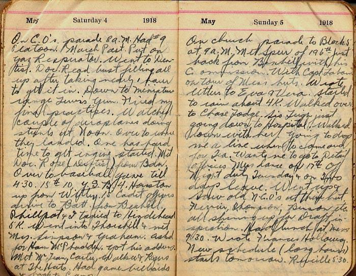 Maharg diary, page 38.