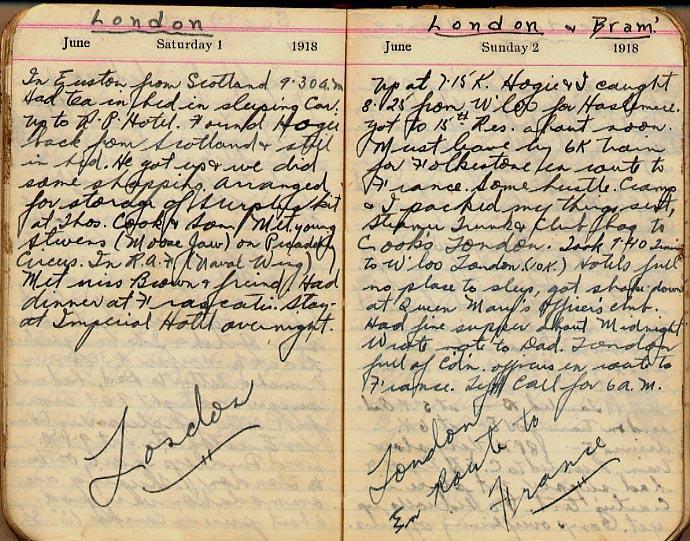 Maharg diary, page 52.