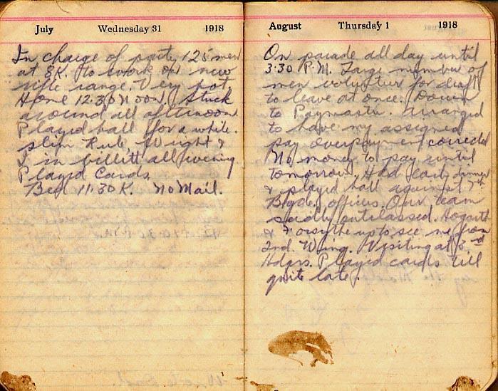 Maharg diary, page 82.