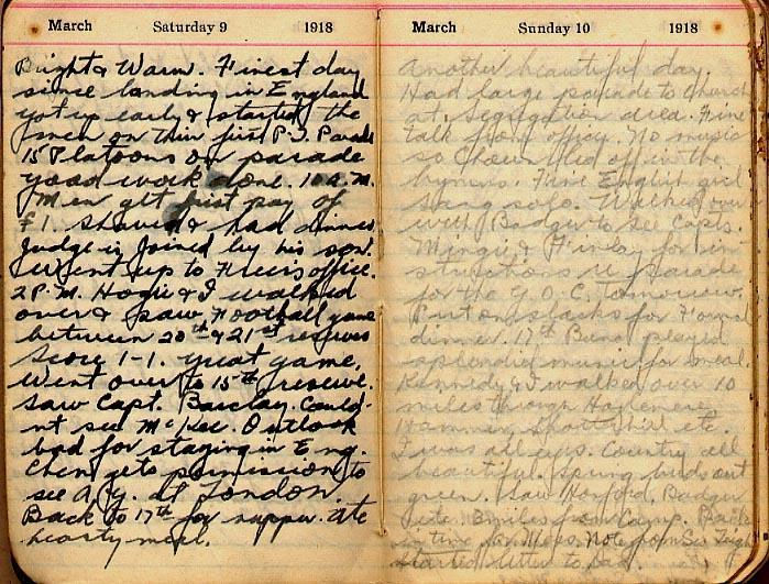 Maharg diary, page 11.