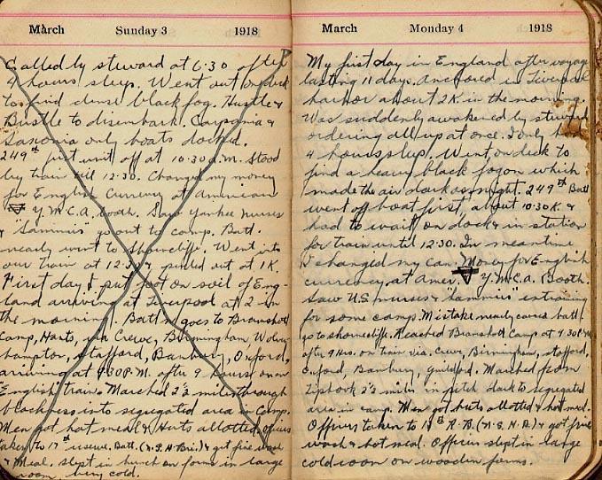 Maharg diary, page 6.