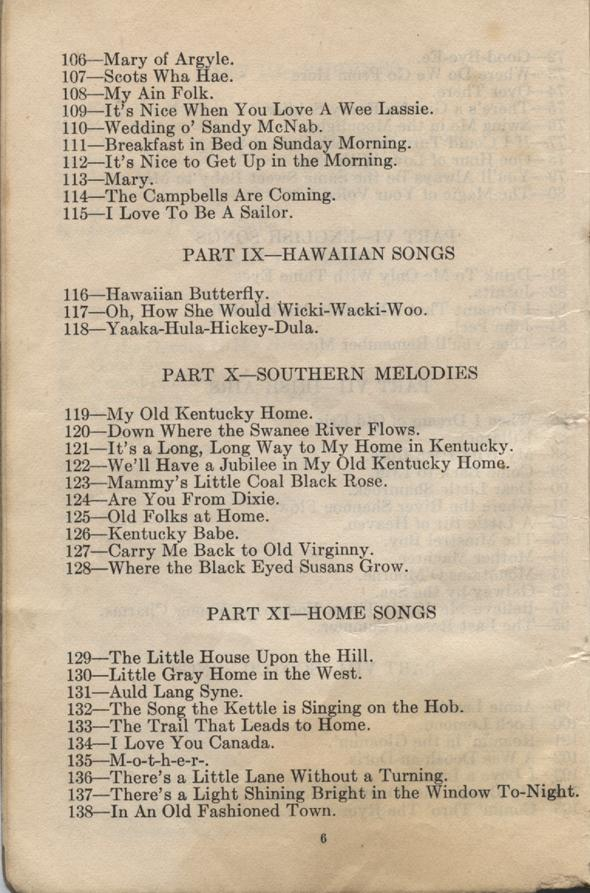 William Daniel Boon. Canadian Soldiers Songbook. Page 6.
