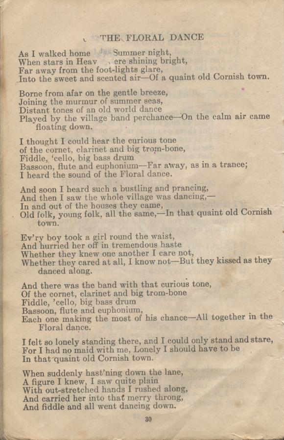 William Daniel Boon. Canadian Soldiers Songbook. Page 30.