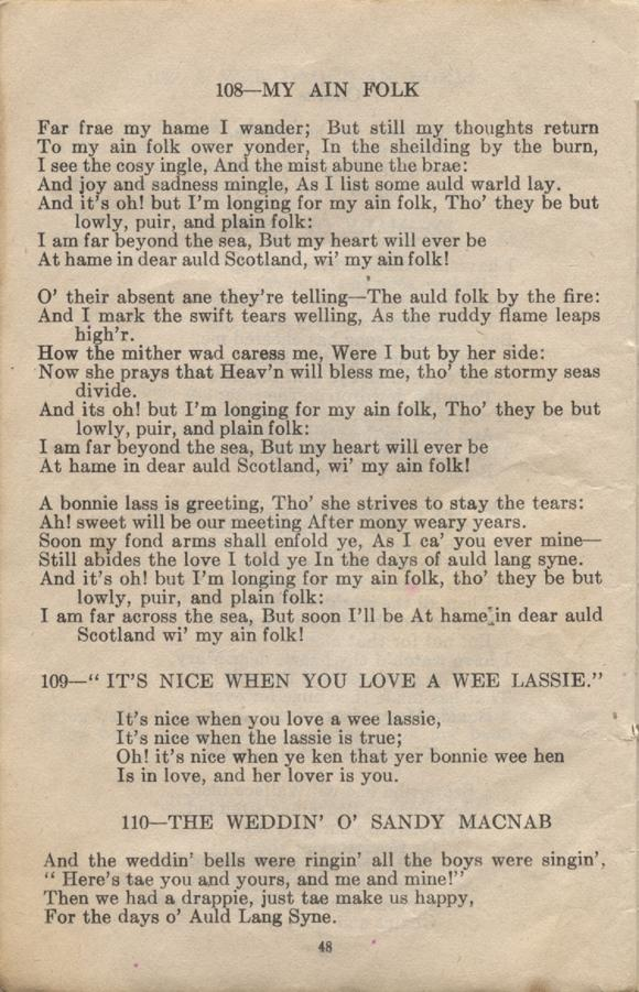 William Daniel Boon. Canadian Soldiers Songbook. Page 48.