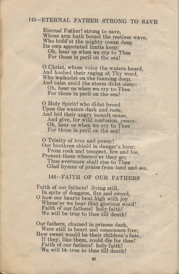 William Daniel Boon. Canadian Soldiers Songbook. Page 60.