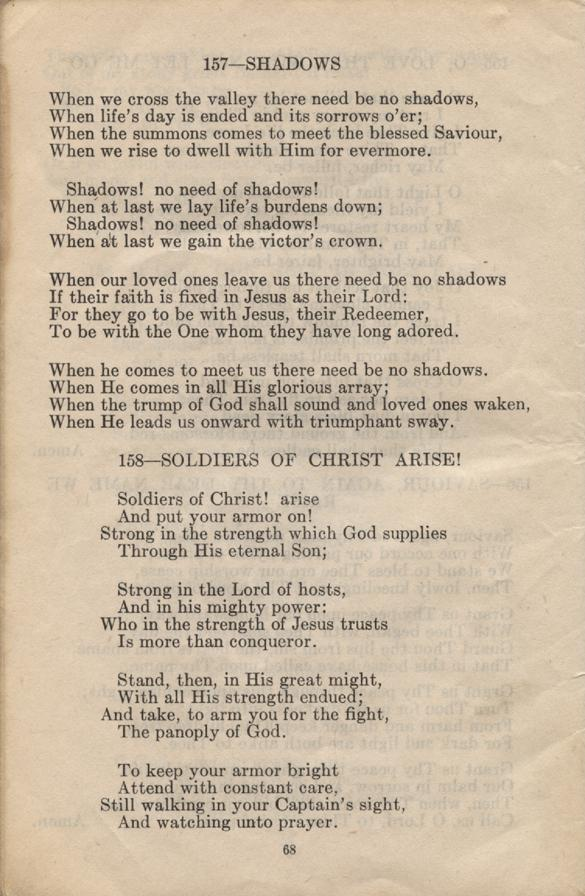 William Daniel Boon. Canadian Soldiers Songbook. Page 68.