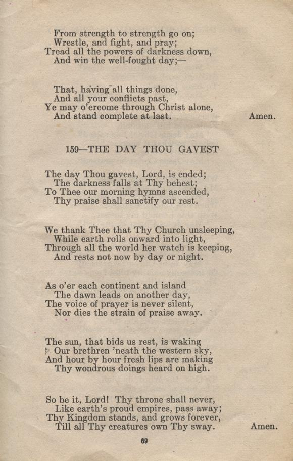 William Daniel Boon. Canadian Soldiers Songbook. Page 69.