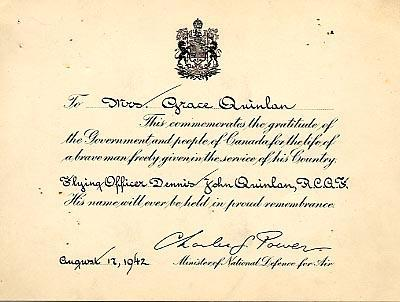 Commemoration Card