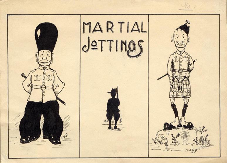 """Martial Jottings"" 1914"