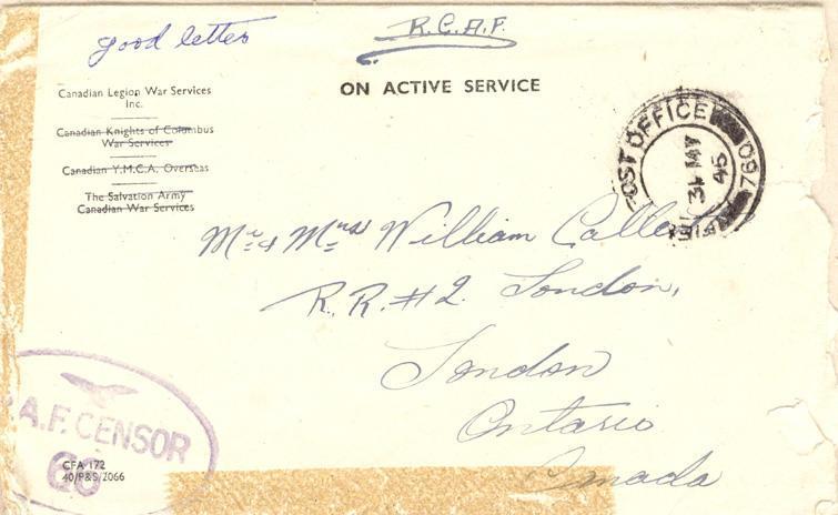 Envelope - May 31st, 1945