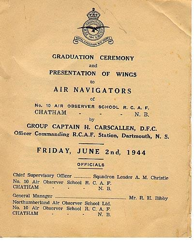R.C.A.F Graduation Program