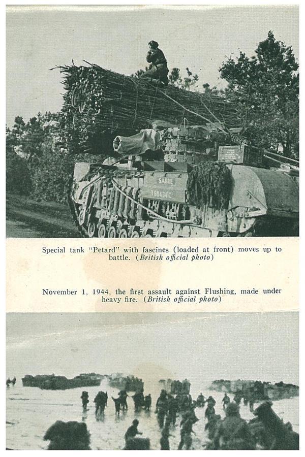 "Special tank ""Petard""."