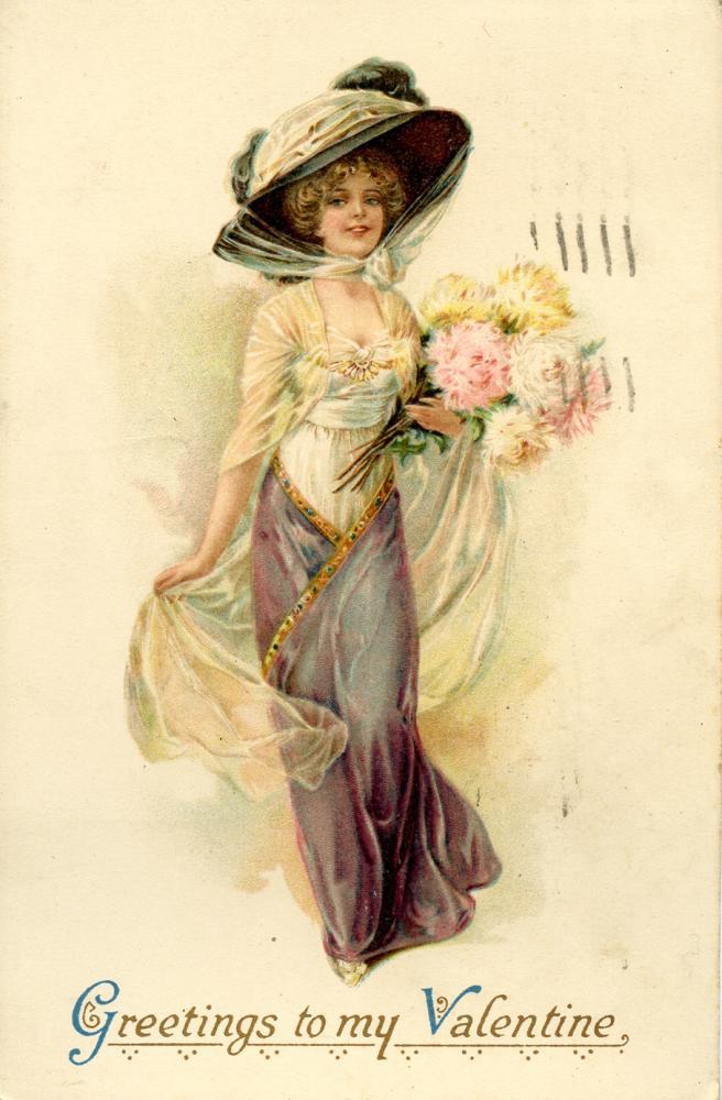 Valentine's Postcard, front