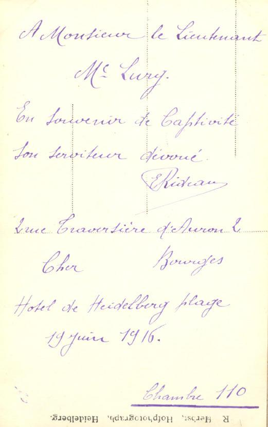 Memory book, photograph, page 31, (back)