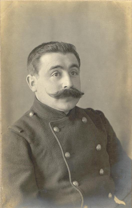 Memory book, photograph, page 31 (front, detail)