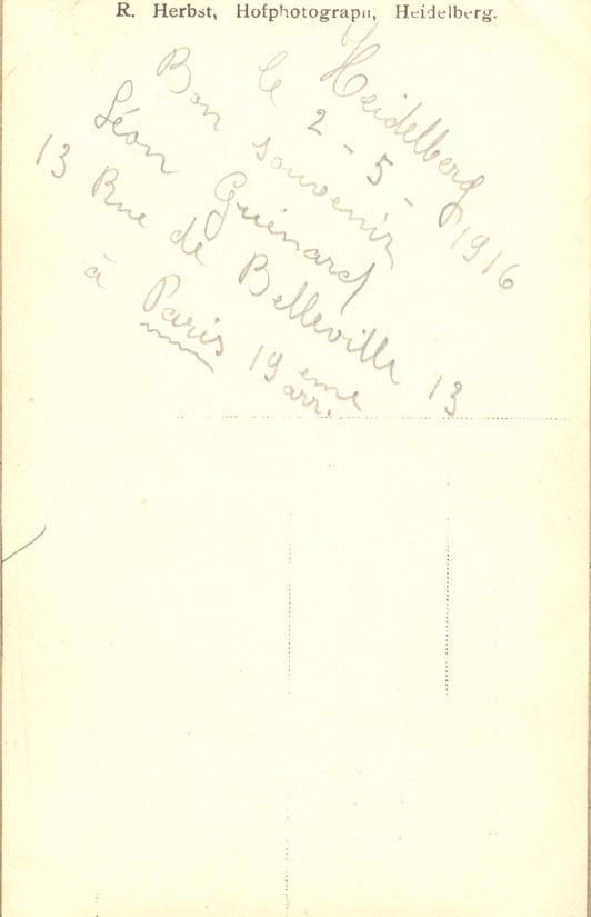 Memory book, phototgraph, page 32 (back)