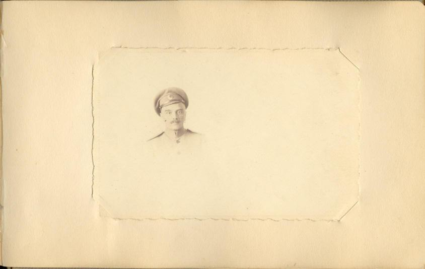 Memory book, photograph, page 33