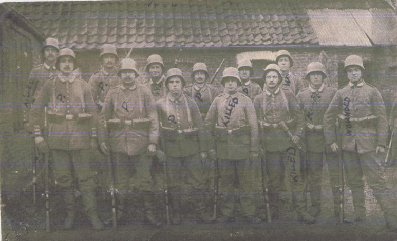 Norris, Louis. April 12, 1917. Front Photograph.