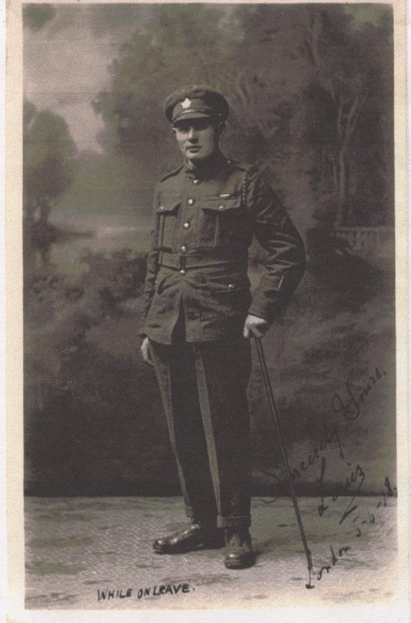 Norris, Louis. June 5, 1918. First Photograph.