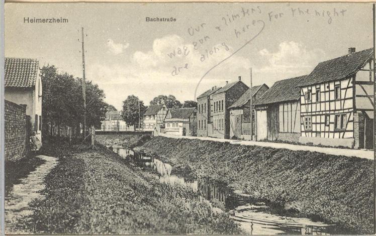 Heimerzheim, Germany Front only