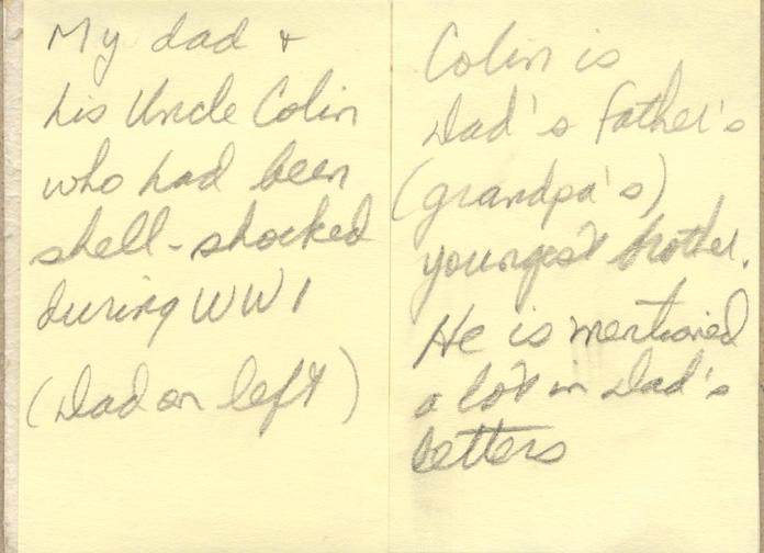 Cliff and Colin - nd back