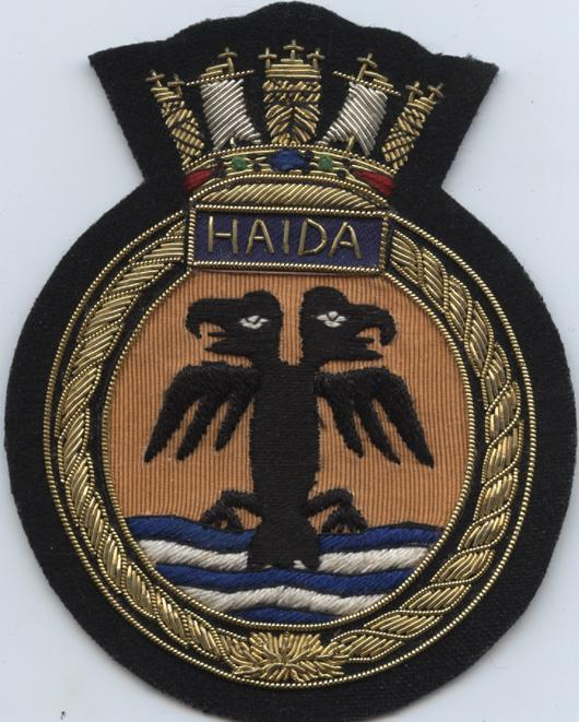 Pinder. crest. Haida