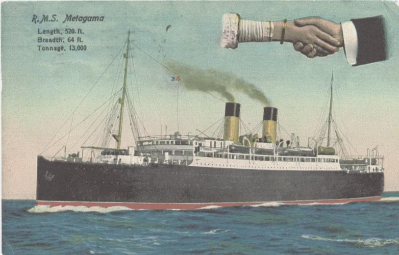 Stares, William James. Postcard, front, 1915.